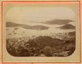 Saint Thomas Island, Danish Possession in the Antilles- View from the Brazilian Observatory with the West Part of the Harbor and the City Charlotte Amalie WDL1754.png