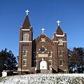 Saints Peter and Paul Catholic Church (Solon, Iowa) - exterior.jpg