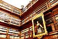 Sale Teresiane e il dipinto che raffigura Maria Teresa d'Austria.JPG