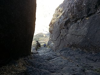 Salher - Rock cut steps