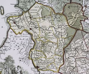 Salland - Image: Salland 1757