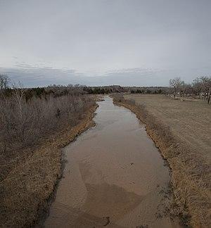 Salt Fork Red River - Salt Fork Red River, Collingsworth County, Texas
