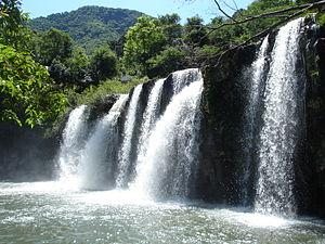 Private natural heritage reserve (Brazil) - Pardinho River waterfall in the Santa Cruz do Sul University RPPN