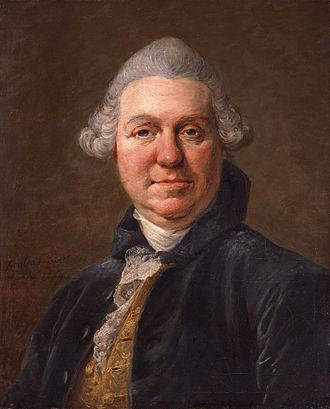 Samuel Foote - Samuel Foote, portrait by Jean-François Gilles Colson.