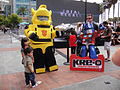 San Diego Comic-Con 2011 - KRE-O Transformers Bumblebee and display (6039246165).jpg