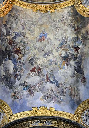 San Silvestro in Capite (Rome) - Ceiling
