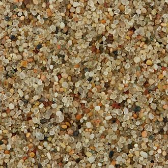 Sand - Close-up (1×1 cm) of sand from the Gobi Desert, Mongolia.