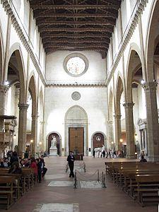 Basilica De La Santa Cruz Florencia Wikipedia La Enciclopedia Libre