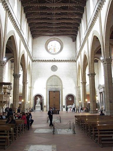 Santa Croce interior 2