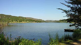 Santa Margarita Lake - Image: Santa Margarita Lake 1
