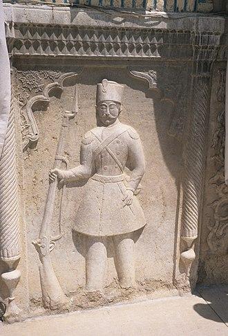 Afif-Abad Garden - Image: Sarbaz afif abad