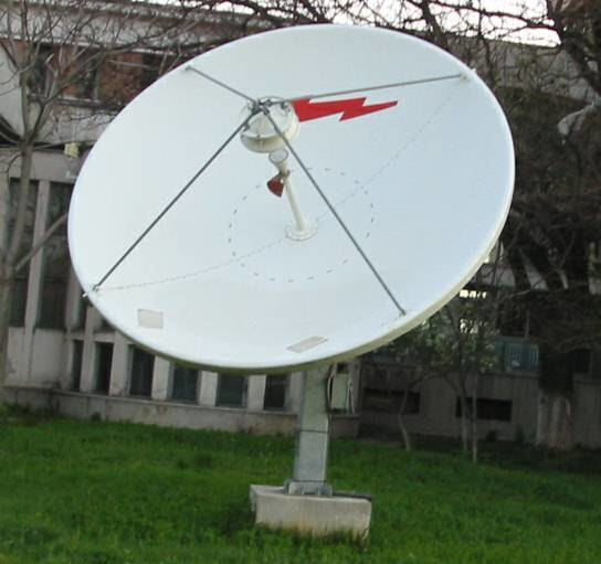 Satellite dish 1 C-Band