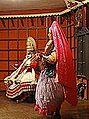 Scène de Kathakali (Kochi, Inde) (13857513685).jpg