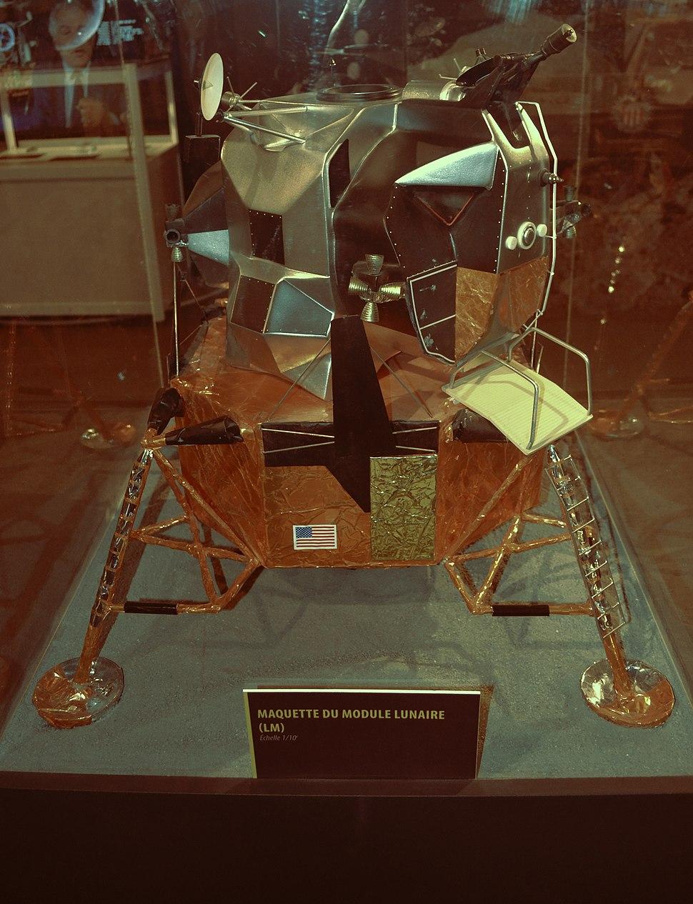Scale model of the Apollo Lunar Module