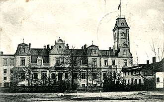 Lebus - Palace in Wulkow in 1904