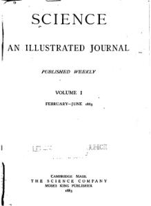 Science (journal) Volume 1 1883.djvu