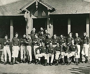 History of rugby union in Scotland - Image: Scotland rugbyteam 1871