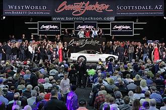 Barrett-Jackson - Image: Scottsdale 2018 Lot 3008 1988 Chevrolet Corvette 35th Anniversary Edition