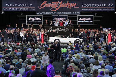 BarrettJackson Wikipedia - Westworld scottsdale car show