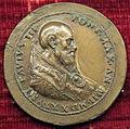Scuola romana, medaglia di paolo III e la pace, 1535, recto, variante a dx.JPG