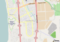 Seaford Rise, May 6 2013 via OpenStreetMap.png
