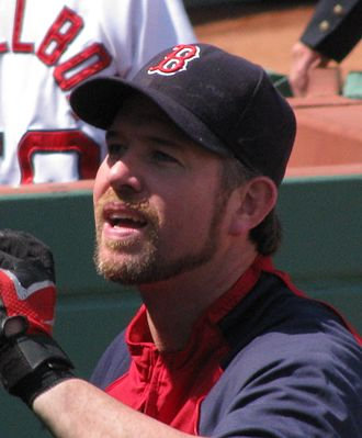 Sean Casey (baseball) - Casey with the Red Sox in 2008