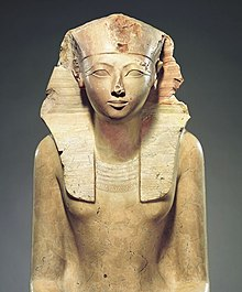 Metropolitan Sanat Müzesi'nde sergilenen Hatshepsut Heykeli