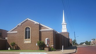 Childress, Texas - Image: Second revision, First Baptist Church of Childress, TX IMG 6207