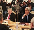 Secretary Kerry Listens to Russian Foreign Minister Lavrov During a Meeting in Moscow (23740656296).jpg