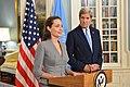 Secretary Kerry and UNHCR Special Envoy Jolie Pitt Address the Press (27770166096).jpg