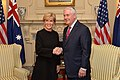 Secretary Tillerson and Australian Foreign Minister Bishop Pose for a Photo Before Their Meeting in Washington.jpg