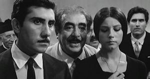 Aldo Puglisi - Puglisi (left) with Saro Urzì, Stefania Sandrelli and Lando Buzzanca in Seduced and Abandoned (1964)