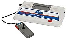 A Sega SG-1000 console