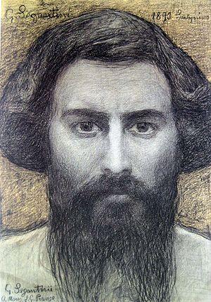 Giovanni Segantini - Self-portrait, 1895