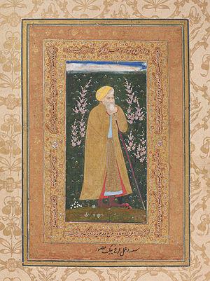 Farrukh Beg - Self-Portrait of Farrukh Beg