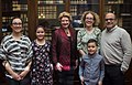 Senator Stabenow meets with a family from Michigan. (26257105175).jpg