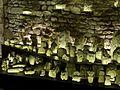Senlis (60), musée d'art et d'archéologie, ex-voto du temple gallo-romain de la forêt d'Halatte, vue d'ensemble 14.jpg