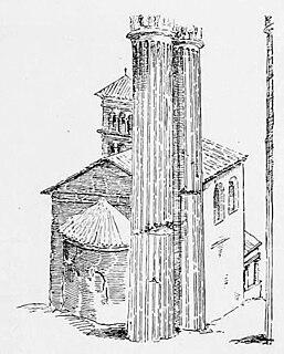 Santi Sergio e Bacco al Foro Romano ancient church in Rome