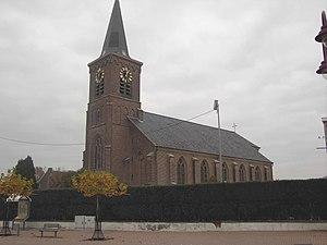 Wichelen - Image: Serskamp (Wichelen) Church