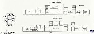 Serviceton, Victoria - Serviceton railway station floor plans