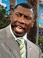 Shannon Sharpe at Super Bowl XLI pre-game show in Miami.jpg