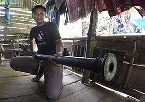 Cetbang - Image: Sharben Sukatanya Meriam kuno selayar