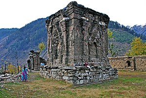 Sharada Peeth - Sharada Peeth (Sarvajnapeetha) temple ruins, in Azad Kashmir