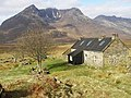 Shenavall bothy and Beinn Dearg Mor - geograph.org.uk - 289153.jpg