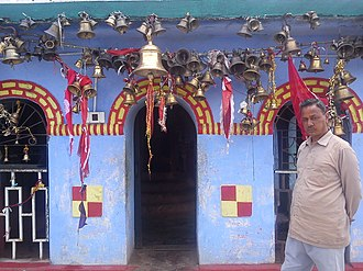 Didihat - A priest at the Sherakot temple