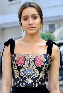 Shraddha Kapoor Indian film actress and singer