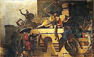 Albéric Clément - Image: Siège de Ptolémaïs (1191)