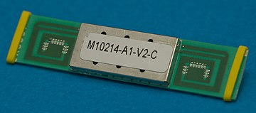 A typical GPS receiver with integrated antenna. SiRF Star III osnovannyi na GPS priiomnike s integrirovannoi antennoi.jpg