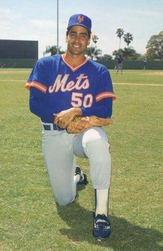 Sid Fernandez - Fernandez in 1986