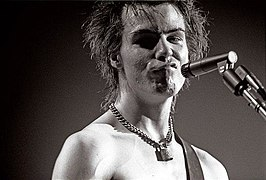 Sid Vicious in januari 1978